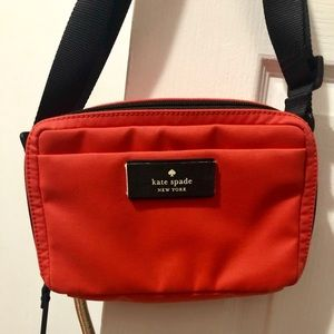 Kate spade mint condition coral summer bag